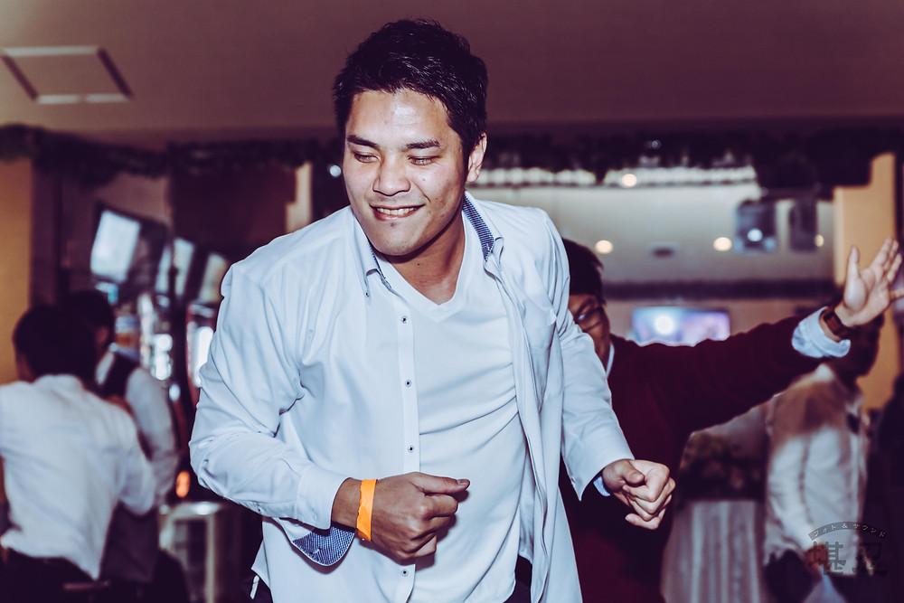 沖縄-結婚式二次会写真-Diningbar LINE-ダンス