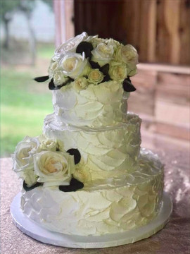 Random Rustic Three Tier