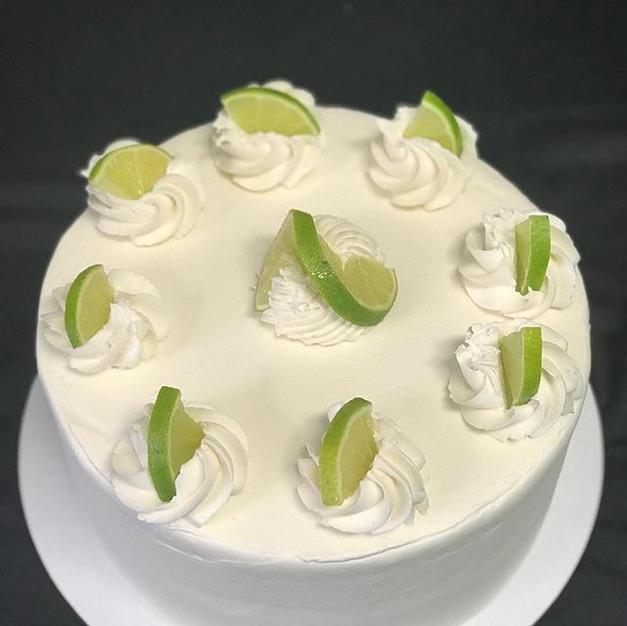 Key lime dessert cake. #bakery #cake #bo