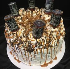 Whiskey cake