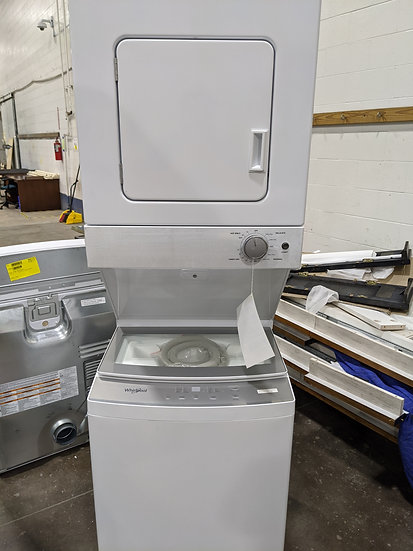 """Whirlpool 24"""" Unitized Electric Dryer White-39602"""