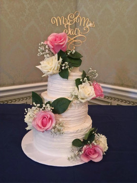 Rustic Three Tier