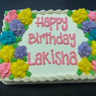 Standard Flower cake