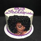 Three different customized birthday cake