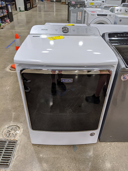 Maytag 9.2 Cu. Ft. Electric Steam Dryer White-35055