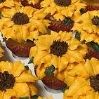 Bright and sunny cupcakes to brighten yo