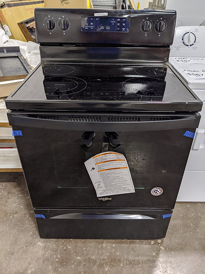 Whirlpool Electric Range Black-39581