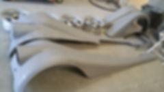décapage sablage pièces de carrosserie