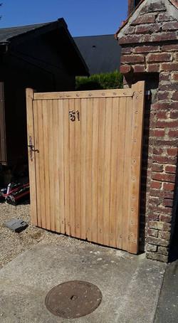 Décapage portail bois (2)