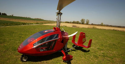 SIDE-BY-SIDE Gyrocopter