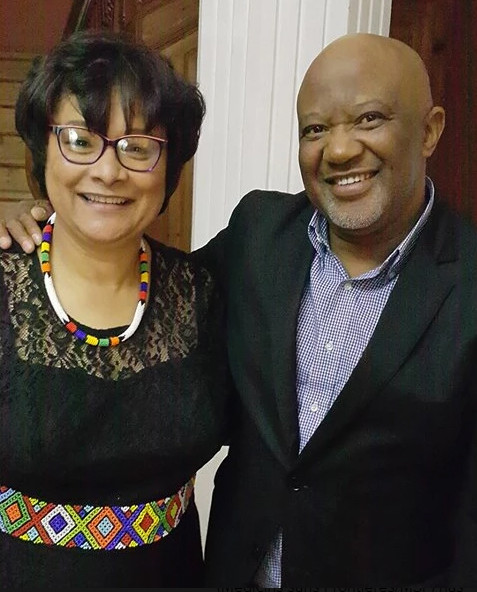 Masimanyane Executive Director Dr Lesley Ann Foster, seen here with former Deputy Finance Minister Mcebisi Jonas, is a Tallberg Foundation Global Leader nominee for 2017.