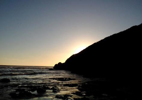 Sunrise at Nahoon Point