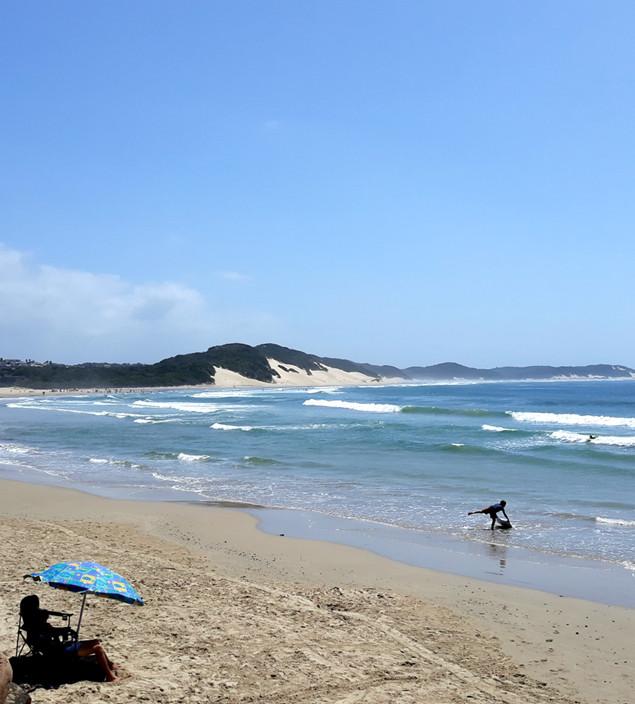 Perfect summer day at Nahoon Beach