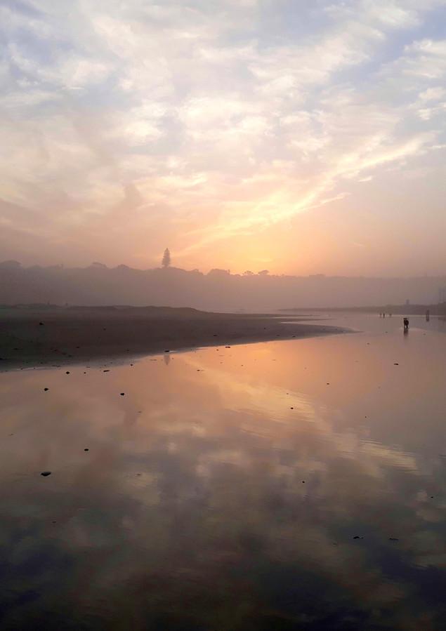 Bonza Bay Lagoon Sunset