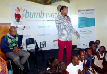 Sexual assault and rape awareness campaign in Eluxolweni