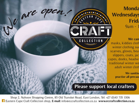 EC Craft Collection shop re-opens for limited trading hours