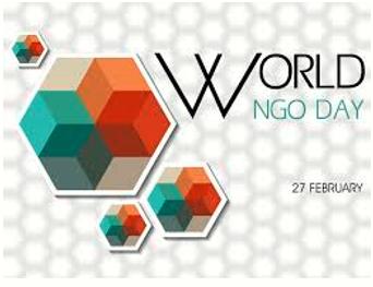 World NGO Day: 27 February 2020