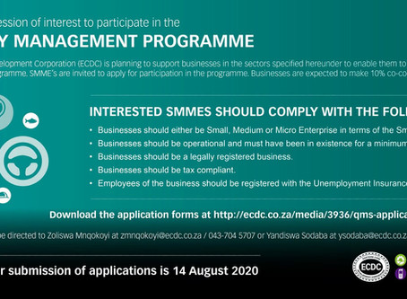 Call for Expression of Interest: Quality Management Programme