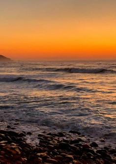 Sunrise over Eastern Beach