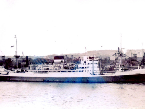 Shipwrecks of Buffalo City: SS City of Johannesburg