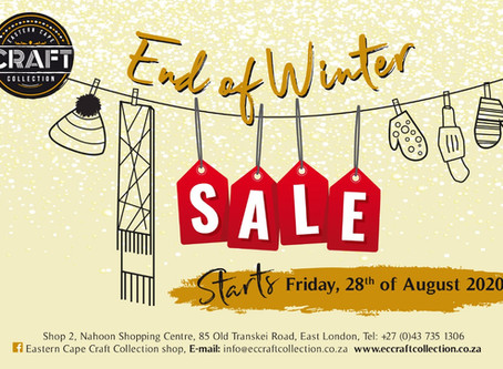 Save the date: End-of-winter sale starts Friday.