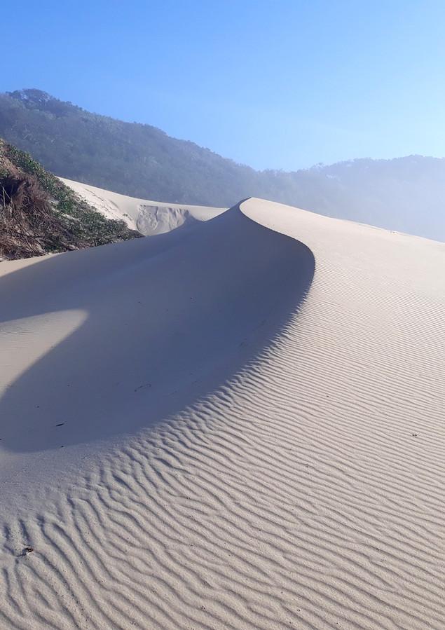 Dunes between Bonza Bay and Blue Bend