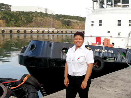 Khayakazi Somzana appointed new Chief Marine Engineer Officer in the Port of East London