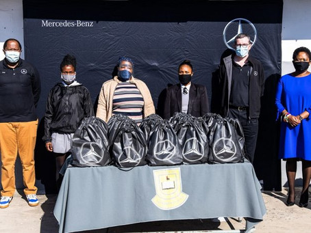 MBSA distributes COVID-19 PPE to 15 000 ECape learners