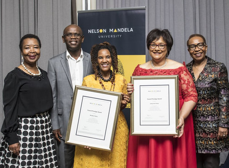 Masimanyane director honoured by Nelson Mandela University Council
