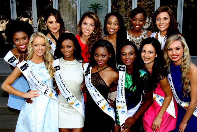 Miss SA 2016 Finalists