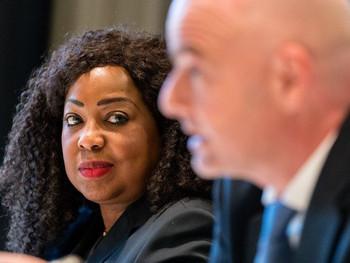 Fatma Samoura, FIFA's first female Secretary-General, is the change needed in international sports