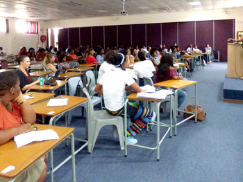Masimanyane engages Fort Hare students
