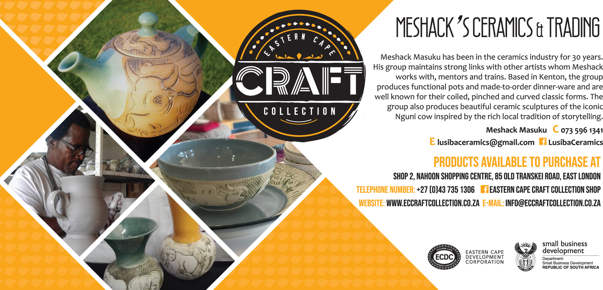 Meshack's Ceramics & Trading