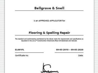 Bellgrove gets nod as a.b.e.® approved applicator