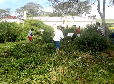 Masimanyane launches Needs Camp clean-up operation