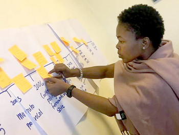 Masimanyane drives key inputs at Africa Beijing+25 Review