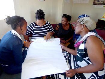 Masimanyane conducts gender equality training in KwaMpundu