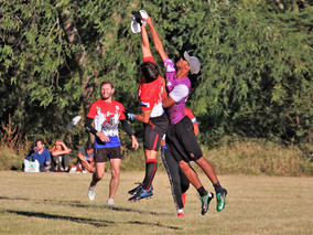Ultimate Frisbee is flying high!