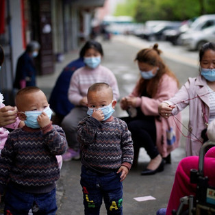 Female frontline workers in China 'typical of coronavirus economic and domestic burden on women'
