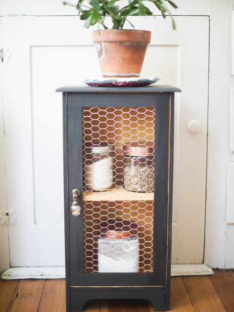 Thrifted Jelly Cabinet DIY (and why it took me so long to finish!)