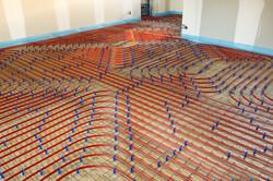 système de plancher chauffant