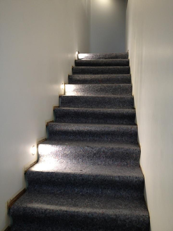 spot éclairage marche escalier
