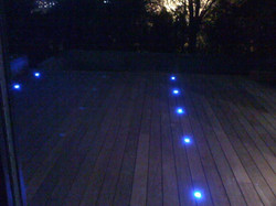 spot led bleu