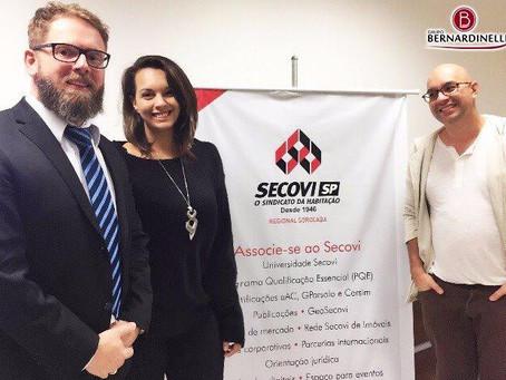 Grupo Bernardinelli participa de especialização referente à Inadimplência Condominial