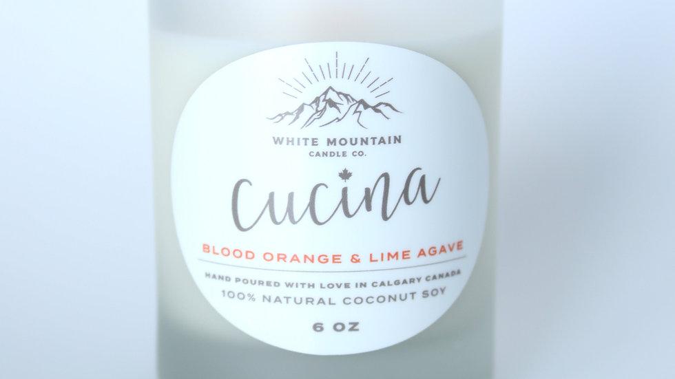 Blood Orange + Lime Agave