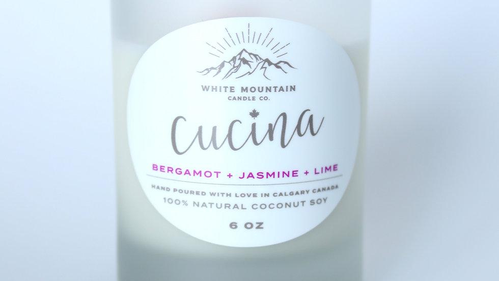 Bergamot + Jasmine + Lime