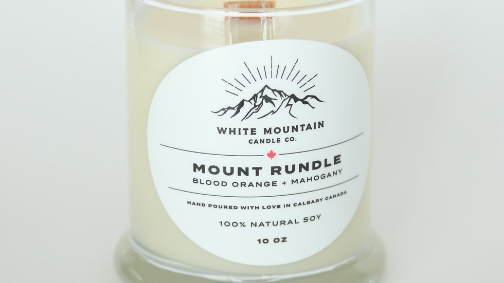 Mount Rundle  -   Blood Orange + Mahogany