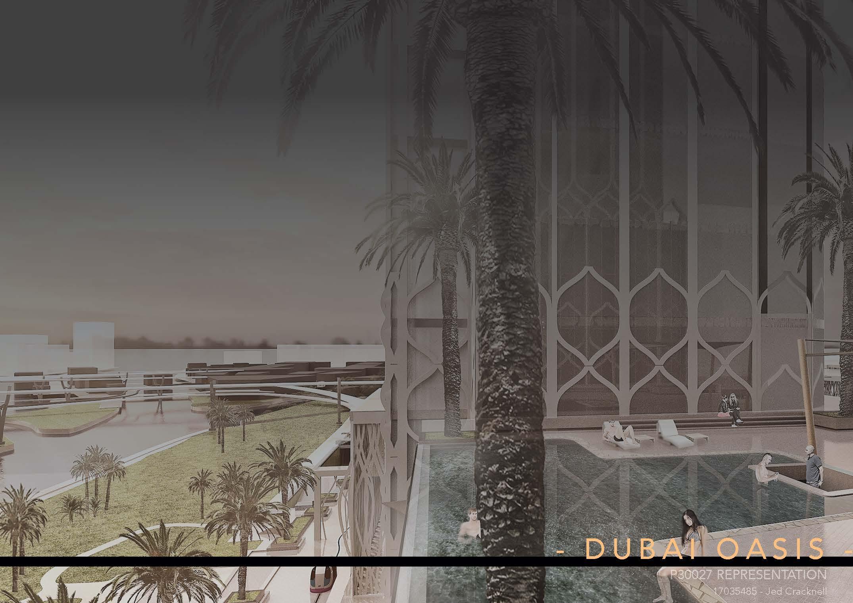 Dubai Oasis - Cover