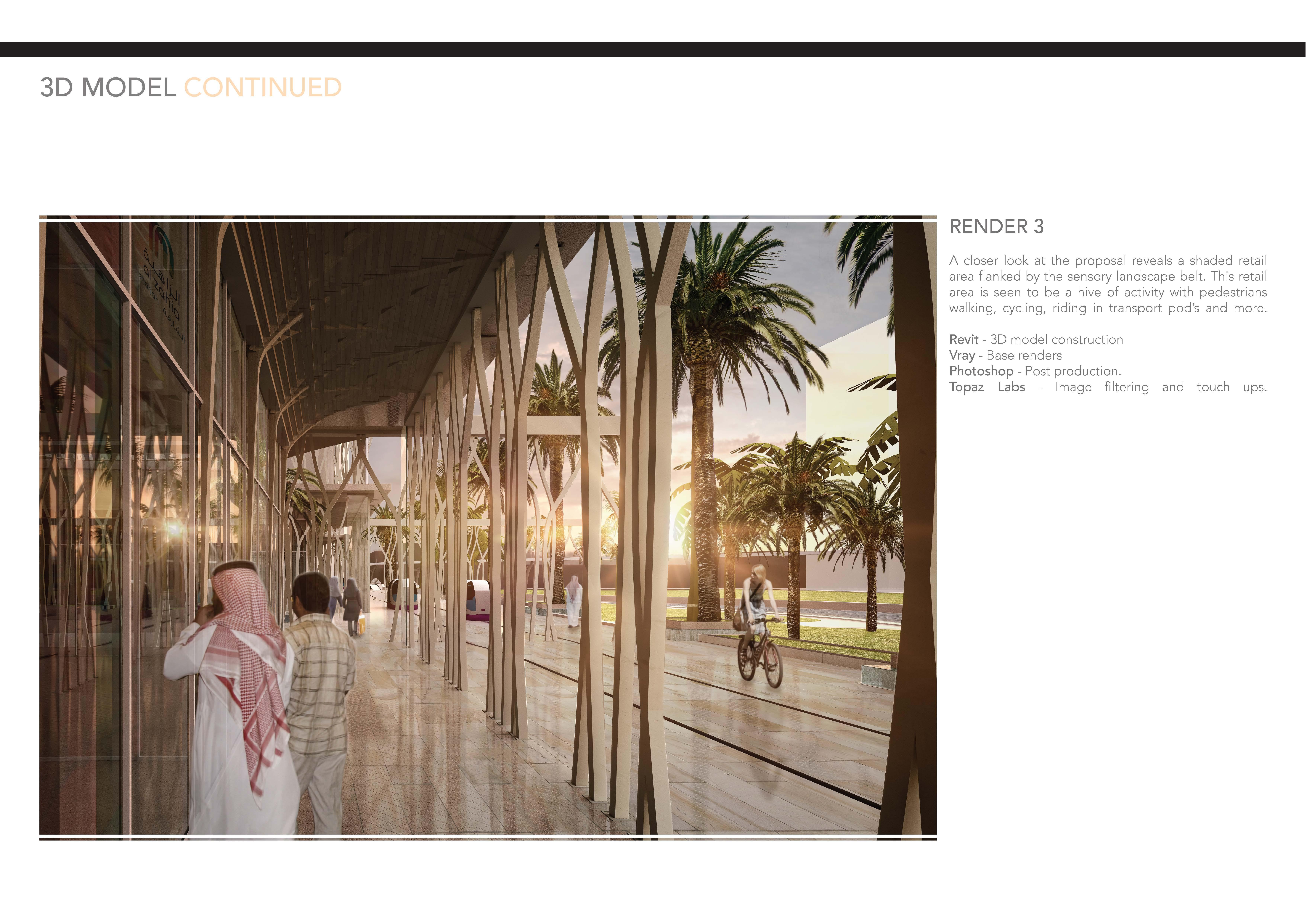 Dubai Oasis - Covered Retail