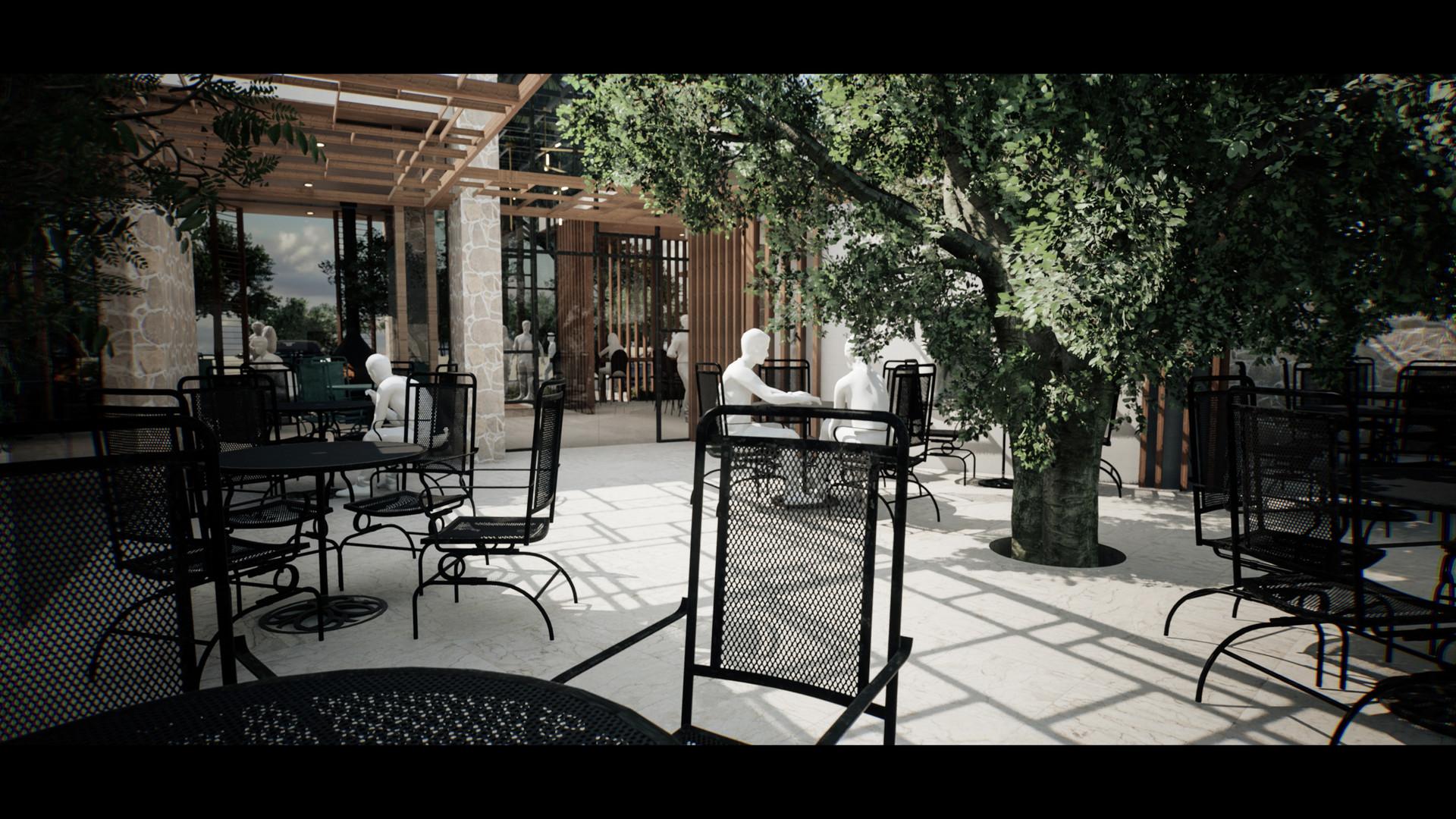 Central courtyard 1